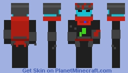 Hyper Light Drifter ~~Contest Minecraft Skin