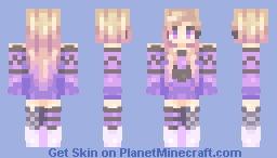 Sunset Purples Minecraft Skin
