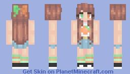 〚ᵏᵃˢˢᶤᵉ〛~ Fanta Minecraft Skin