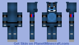 Old Candy -Five Nights at Candy's- Minecraft Skin