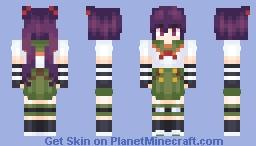 Kurumi Ebisuzawa (Gakkou Gurashi/School Live) Minecraft Skin