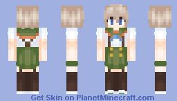Miki Naoki (Gakkou Gurashi/School Live) Minecraft Skin