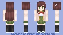 Yuuri Wakasa (Gakkou Gurashi/School Live) Minecraft Skin