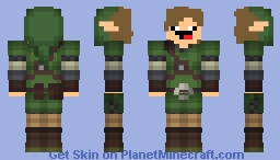 Hero of JOOJ Minecraft Skin