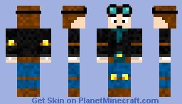 danTDM Minecraft Skin