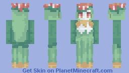 self portrait - lilligant Minecraft Skin