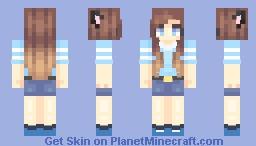 😇 | beach blues (raffle winners // popreel) Minecraft Skin