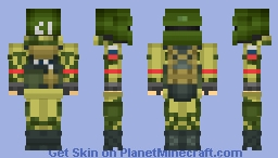 R6S Spetsnaz Tachanka Minecraft Skin