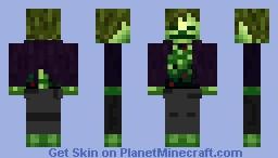 Skeleton Man Minecraft Skin