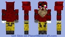 It's me FoxyGirl2001! (old skin) Minecraft Skin