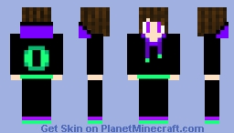 Ender Hoodie - For _Zenoriz_ Minecraft Skin