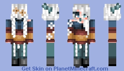 """☆ ᒪᙓIᗩ_ ☆ """"Looking back when she was young, living wild and free..."""" Minecraft Skin"""