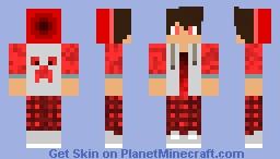 Red Boy Minecraft Skin