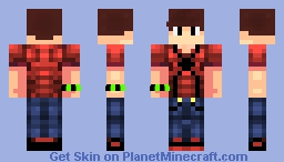 LegoSpidermanFan Official Skin 2.0   Spiderman T-Shirt Teen Minecraft Skin
