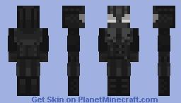 Spider-Man Noir Minecraft Skin