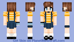 its finally spring !!! Minecraft Skin