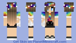 🌸👑Tie Dye👑🌸 Minecraft Skin