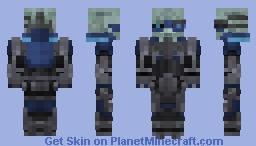 Mass Effect Garrus Vakarian Minecraft Skin