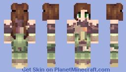 -=Woodland Warrior=- Minecraft Skin