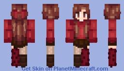 -=Chocolate Cherry=- Minecraft Skin