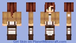 Solidstarr Request - Sasha Blouse Minecraft Skin