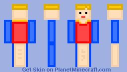 Finger Puppet Minecraft Skin