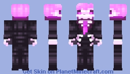 Mystery Skulls - Lewis ♥ Minecraft Skin