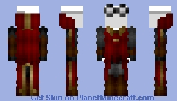 Female Gryffindor Quidditch Robes (New) Minecraft Skin