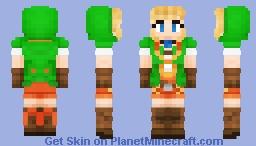Linkle - Hyrule Warriors Legends Minecraft Skin