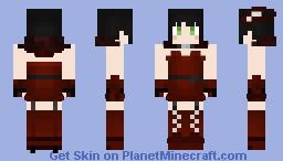 RWBY - Miltiades Malachite (1.8 Remake) Minecraft Skin