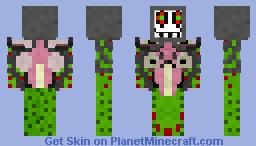 Photoshop/Omega Flowey! Undertale Minecraft Skin