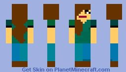 Rachel Minecraft Skin