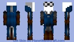 Female Ravenclaw Quidditch Robes (New) Minecraft