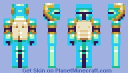 Shovel Knight ( ͡° ͜ʖ ͡°) Minecraft Skin