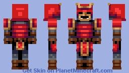 Samurai (POPREEL!!!!!) Minecraft