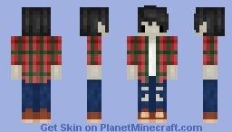 Marshall Lee ~Adventure Time Minecraft Skin