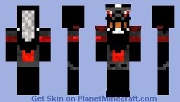the dark Paladin Minecraft Skin