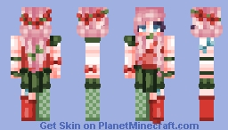 ☆ ᒪᙓIᗩ_ ☆  Skin Trade with RosieRiley Minecraft Skin