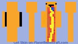 Derp Hot Dog Minecraft Skin