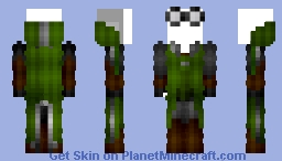 Female Slytherin Quidditch Robes (New) Minecraft Skin