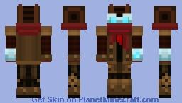 QU4D (Steampunk Robot) Minecraft Skin