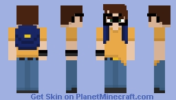The Player Minecraft Skin