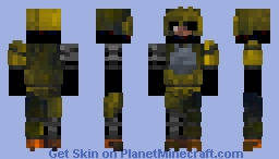 The Joy Of Creation: Ignited Chica Minecraft Skin