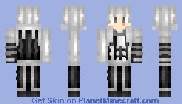 Allen Walker (D.Gray-Man) _!Non!_ Minecraft Skin