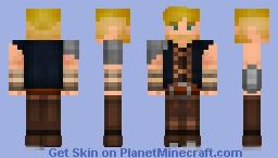 Asher Forrester [Removable Armor and Vest!] Minecraft Skin