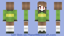 Chara Dreemurr Minecraft Skin
