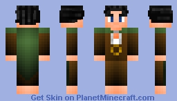 Chibi Frodo Minecraft Skin