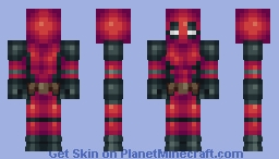 Deadpool (Deadpool) Minecraft Skin