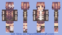 Skin Trade With Hecatia~ Minecraft Skin