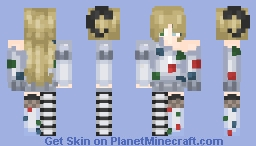 -=OC Ellie=- Minecraft Skin